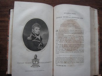 Image for The Naval Chronicle Containing a General and Biographical History of the Royal Navy of the United Kingdom; with a Variety of Original Papers on Nautical Subjects. A Complete Run in 40 Volumes.
